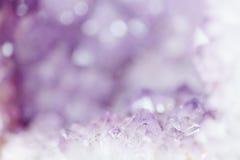 Abstrakt ametistbakgrund Royaltyfria Bilder