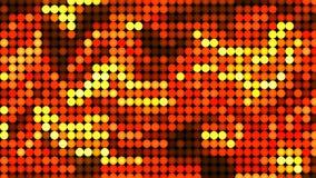 Abstrakt animering stiliserad röd och gul bakgrund stock illustrationer