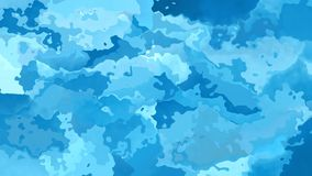 Abstrakt animował pobrudzonej tło bezszwowej pętli nieba wideo błękit zbiory wideo