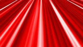Abstrakt animujący bieg paskuje tło pętli wideo bezszwową czerwień zdjęcie wideo