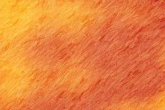 Abstrakt apelsin och guling texturerad bakgrund Royaltyfri Foto