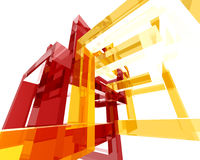 abstrakt archi structure006 Arkivfoto