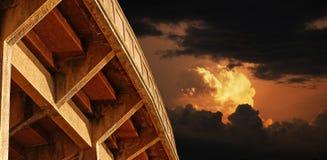 abstrakt arhitecture Arkivbilder