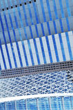 abstrakt arkitektonisk detalj Royaltyfri Fotografi
