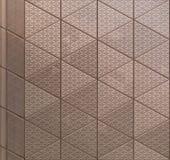 Abstrakt arkitektonisk metalltextur Royaltyfri Bild