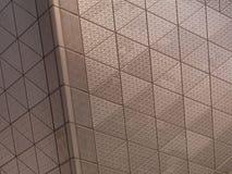 Abstrakt arkitektonisk metalltextur Arkivfoto