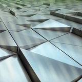 abstrakt arkitektonisk modell Fotografering för Bildbyråer