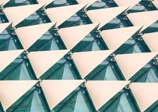 abstrakt arkitektonisk modell Royaltyfria Bilder