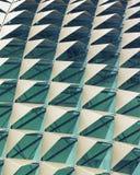 abstrakt arkitektonisk modell Royaltyfri Foto