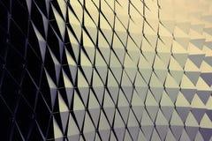 abstrakt arkitektonisk modell Arkivbilder
