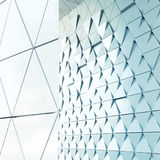 abstrakt arkitektonisk modell Arkivbild