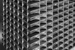 Abstrakt arkitektonisk sammansättning i bakgrunden och texturen Royaltyfria Foton