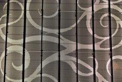 Abstrakt arkitektonisk textur Arkivbilder