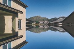 abstrakt arkitektoniskt Arkivfoto