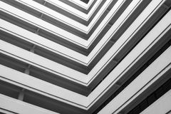 abstrakt arkitektoniskt Arkivfoton