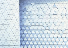 Abstrakt arkitektoniskt modellfoto Arkivbilder