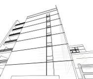 abstrakt arkitektur Royaltyfri Foto
