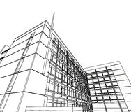 abstrakt arkitektur Royaltyfri Bild