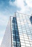 Abstrakt arkitektur av en modern byggnad Royaltyfri Foto