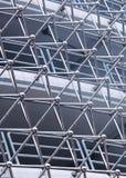 Abstrakt arkitektur av en modern byggnad Arkivfoton