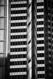 Abstrakt arkitektur för moderna byggnader Arkivfoton