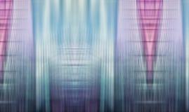 Abstrakt arkitektur som är modern och Arkivfoton