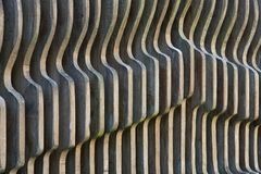 Abstrakt arkitekturbakgrund med träplank Royaltyfri Bild