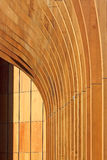 abstrakt arkitekturbakgrundsträ Arkivbilder