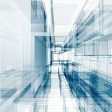 Abstrakt arkitekturbegrepp Arkivfoton