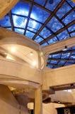 abstrakt arkitekturinterior Fotografering för Bildbyråer