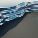 abstrakt arkitekturvägg Arkivfoto