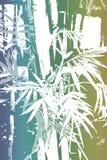 abstrakt asiatisk bakgrundsbambuwallpaper vektor illustrationer