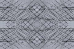 Abstrakt assymetrisk bakgrund av träplankorna Skärande remsor för abstrakt minimalistic modell Grå färgbakgrund Fotografering för Bildbyråer