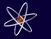 abstrakt atom Arkivfoto