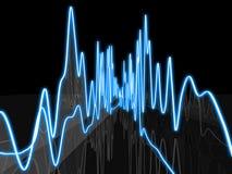 abstrakt audio Royaltyfri Fotografi
