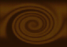 abstrakt backgrounmosaikspiral Arkivfoton
