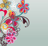 abstrakt bakgrund stock illustrationer