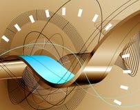 abstrakt bakgrund 3d Stock Illustrationer