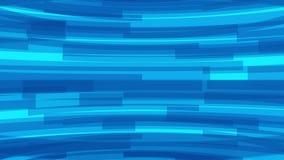 Abstrakt bakgrund av att rotera genomskinliga linjer Sömlös ögla arkivfilmer
