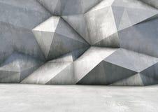 Abstrakt bakgrund av betongen Royaltyfri Foto