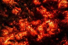 Abstrakt bakgrund av bränningkol Arkivbild