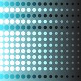 Abstrakt bakgrund av cirkeln i bl? f?rgvektorillustration vektor illustrationer