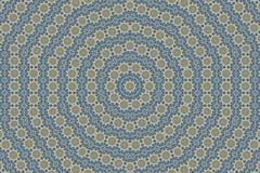 abstrakt bakgrund av den blom- modellen av en kalejdoskop Royaltyfri Fotografi