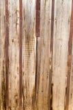 Abstrakt bakgrund av det gamla trästaketet Arkivfoto