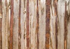 Abstrakt bakgrund av det gamla trästaketet Arkivbild