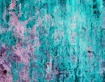 abstrakt bakgrund av en gammal blåttbetongtextur Arkivfoto