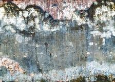 Abstrakt bakgrund av ett gammalt smutsar ner betong Arkivfoto