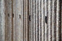 Abstrakt bakgrund av ett plast- staket Royaltyfri Bild