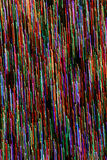 Abstrakt bakgrund av färgrika vertikala linjer Arkivfoto