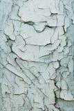 Abstrakt bakgrund av gamla målade bräden Arkivfoto